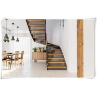 大东门钢木楼梯|简单钢木楼梯|钢木楼梯洞口