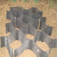 边坡绿植护坡绿化土工格室锚杆固定护坡土工格室