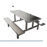 学校食堂定制不锈钢餐桌 多人位餐桌 品质保障