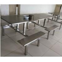 8人位连体长条形餐桌 扎实稳固 价格合理贴心