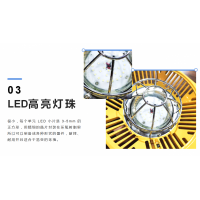矿用隔爆兼本安型LED巷道灯DJS24/127L正安防爆