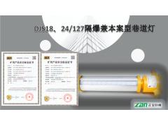 矿用隔爆兼本安型LED巷道灯DJS18/127L正安防爆
