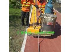 路面热熔划线机市政道路热熔标线一体机手推式震荡热熔划线机