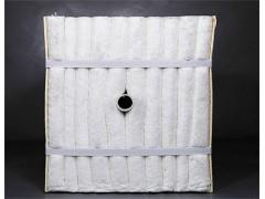金石高温砖窑耐火棉1260陶瓷纤维模块隧道窑吊顶保温棉可施工