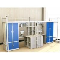 连体公寓床 双人宿舍组合床 结构简单稳定坚固