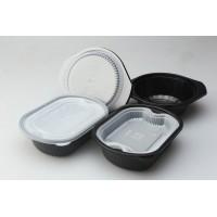 一次性圆形透明餐盒 食品吸塑包装厂家定制上海御兴