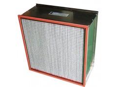 高温高效空气过滤器三个方面的特点xxbflq