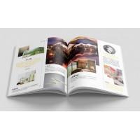 孝感宣传册印刷图册印刷定做书刊杂志说明书印刷设计