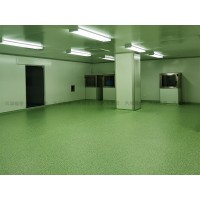 洁净室同质透心地板 无尘室塑胶地板生产厂