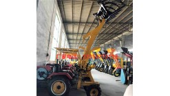 物流四轮柴油小铲车矿山建筑电动装载机农用养殖场装卸车